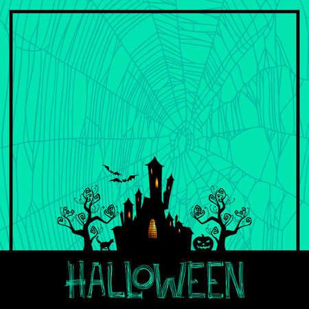 threaten: halloween background