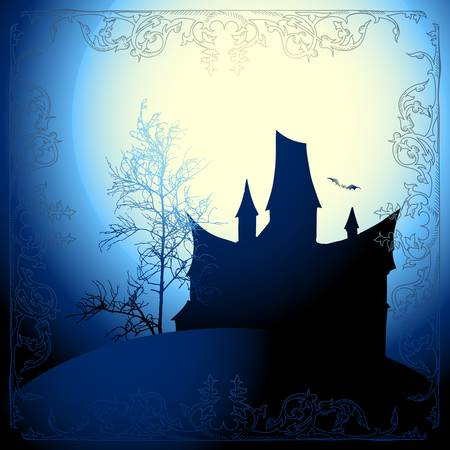halloween background Stock Vector - 15729798