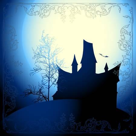 halloween background Stock Vector - 15729798