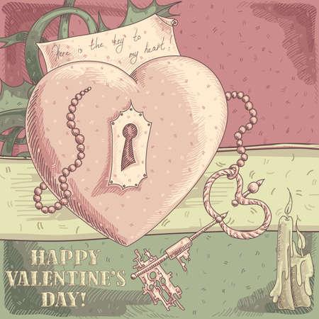 Valentines background Stock Vector - 17775718