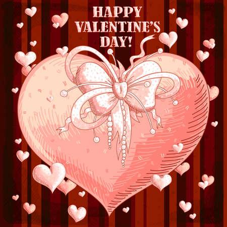 Valentines hearts Stock Vector - 17775730