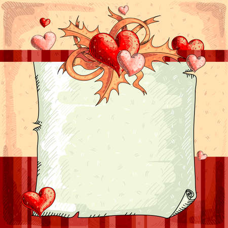 Valentines background Stock Vector - 17775735