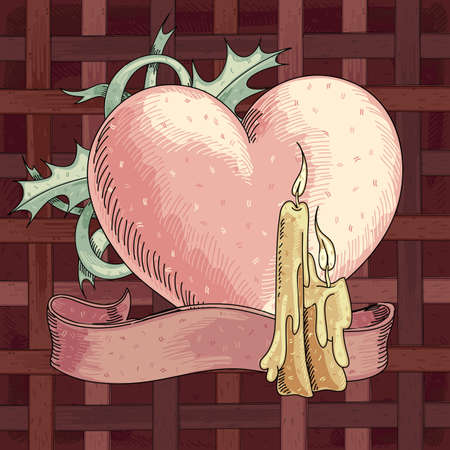 Valentines heart Stock Vector - 17775731