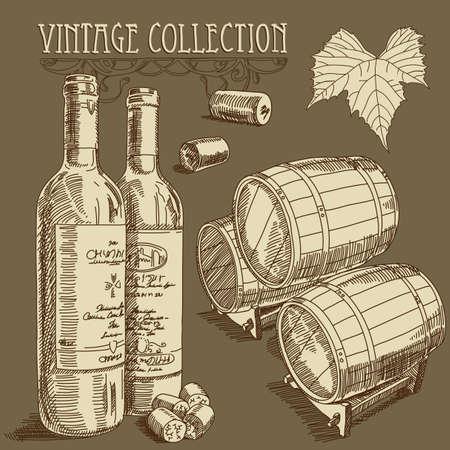 bottle of wine: wine background