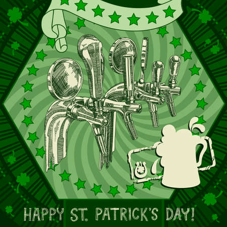 Happy St Patrick's Day background Vector