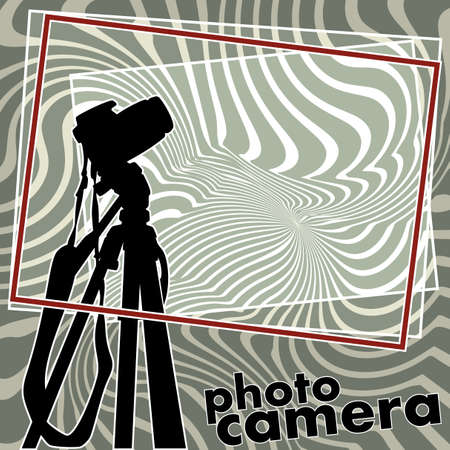 snaps: photo camera Illustration