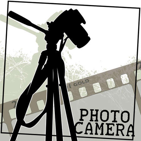 mensuration: appareil photographique Illustration