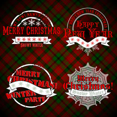 merriment: christmas emblems and designs
