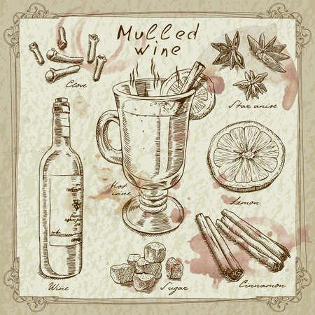 mulled wine design elements