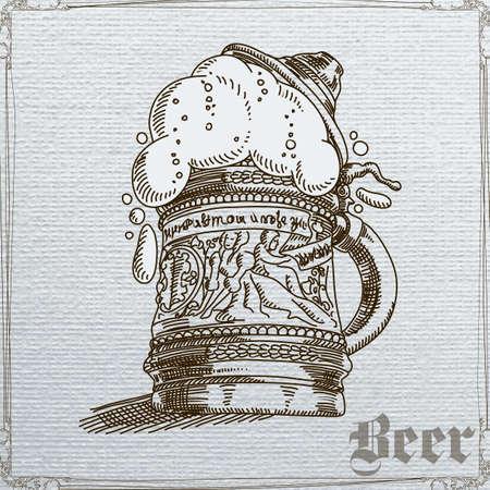 tankard: beer