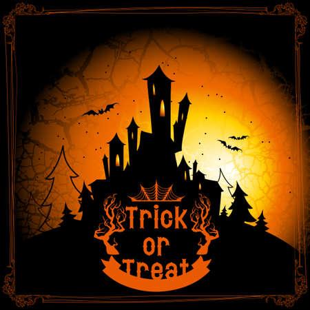 threaten: halloween  Illustration