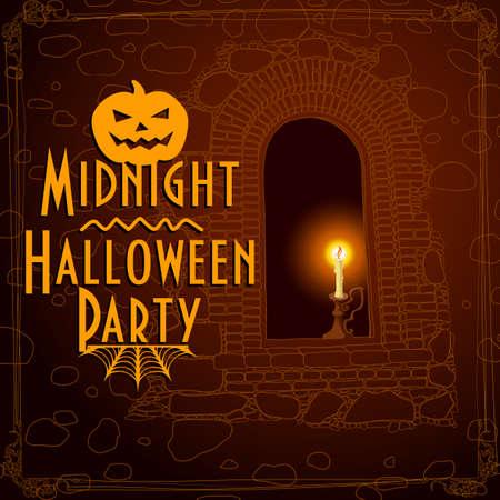 frightful: halloween  Illustration
