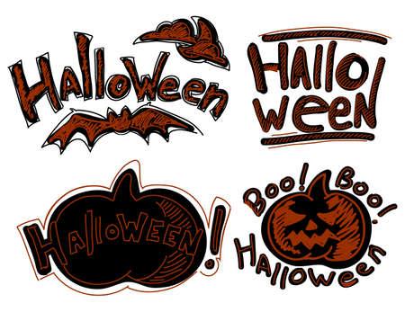 frightful: Set of Halloween elements