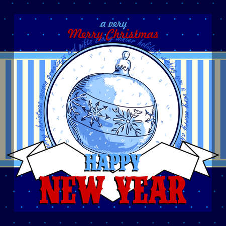 merriment: Design Christmas card
