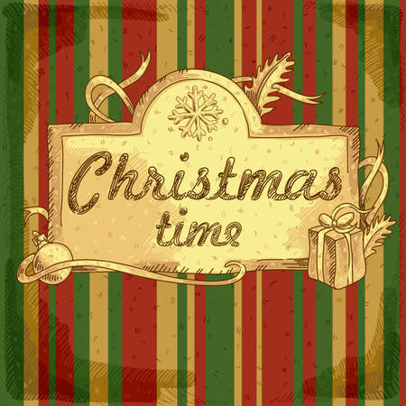 merriment: Christmas background