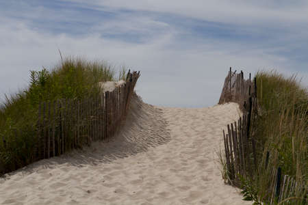 Beach at Watch Hill  Rhode Island - USA  photo
