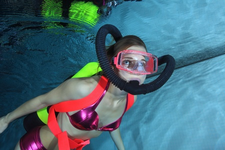 Female scuba diver  Stock Photo - 16406676