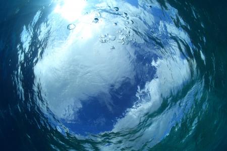 Wateroppervlak van de zee