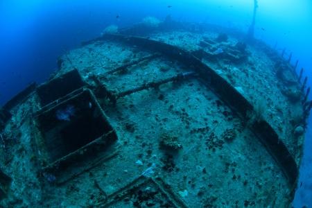 Kuda Giri shipwreck in the indian ocean Stock Photo