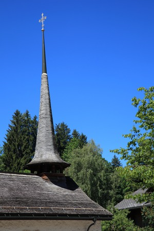 Chapel of the village of Gstaad