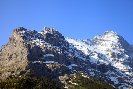 eiger: Eiger mountain in the area of Grindelwald