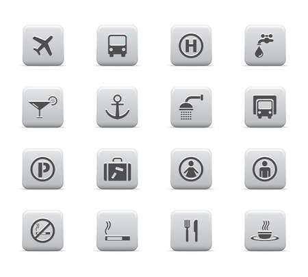 Social pictogram set Vector