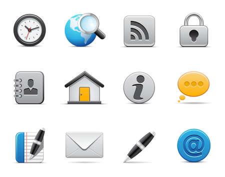 Iconos de Web