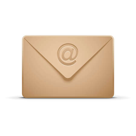 Mail envelope icon Stock Vector - 11660845