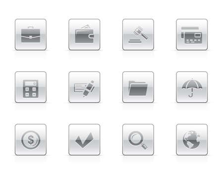 credit card icon: Office and finance icon set