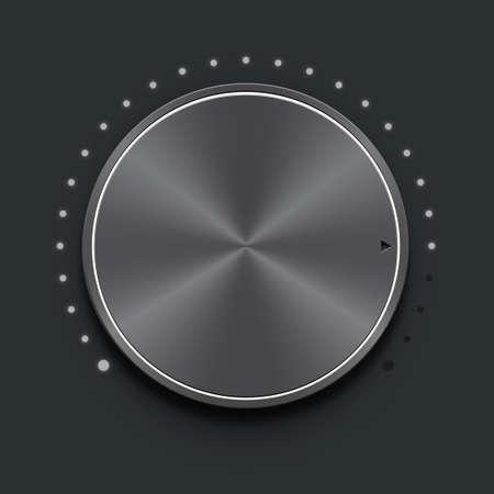 calibration: Volume knob