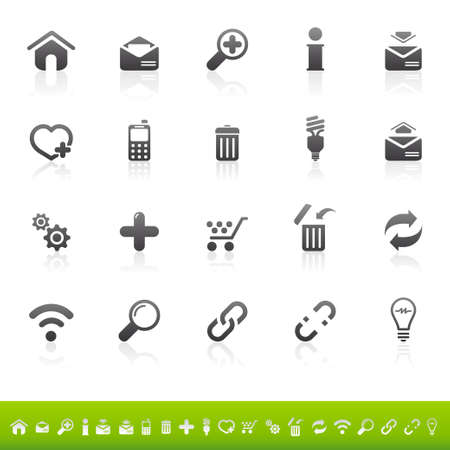 e store: Web icon set
