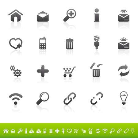 e commerce icon: Web icono conjunto