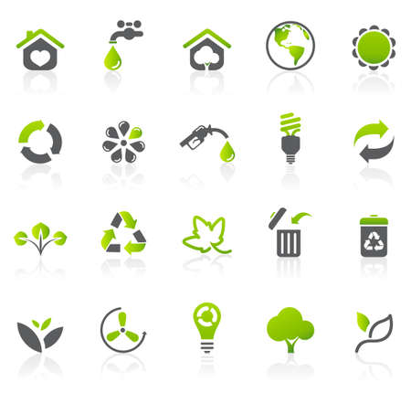 Environmental icons Ilustrace