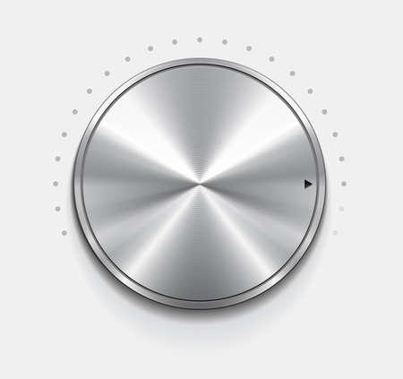 in tune: Metallic knob