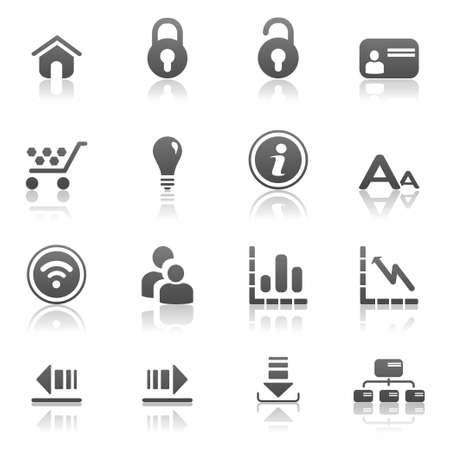 lightbox: Web icons