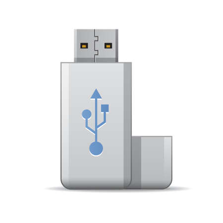computer memory: USB flash drive
