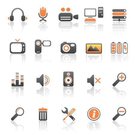 mic: Media e le icone del computer