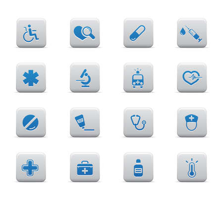 Medical and healt hcare icons