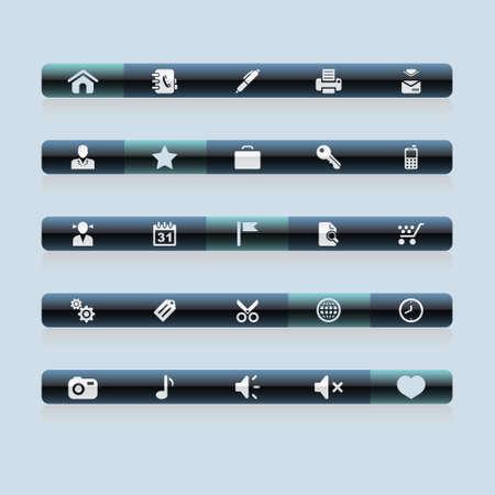 Navigation bar icons