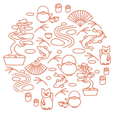 Travel and leisure. Illustration