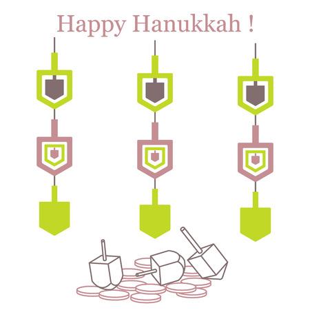 Jewish holiday. Illustration