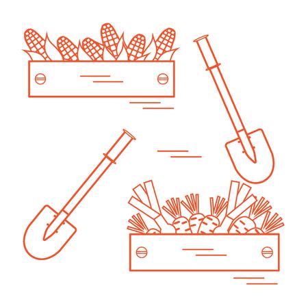 Illustration of harvest