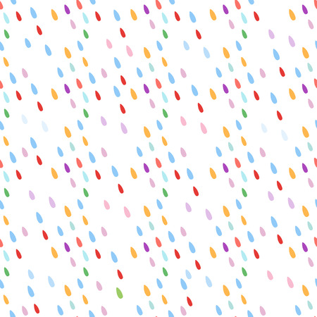 Seamless pattern with drops. Abstract colorful background. Design for banner, poster, textile, print.