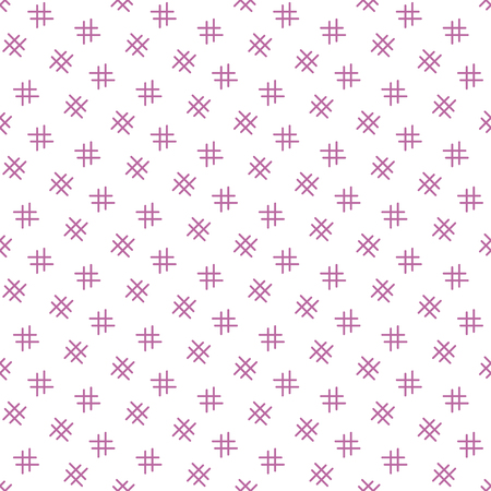 Geometric seamless pattern. Abstract grid background. Design for banner, poster, textile, print. Archivio Fotografico - 125159506