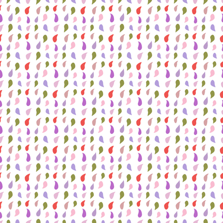 Seamless pattern with drops. Abstract colorful background. Design for banner, poster, textile, print. Archivio Fotografico - 125159520
