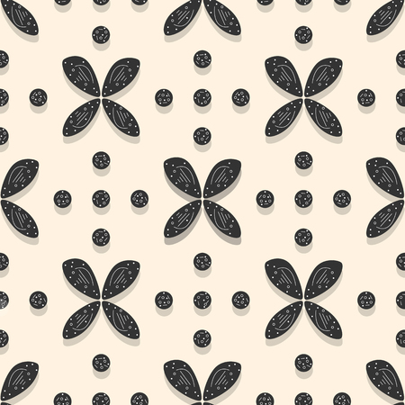 Seamless pattern with flowers. Abstract colorful background. Design for banner, poster, textile, print. Çizim