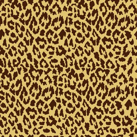 Vector seamless leopard pattern. Trendy background. Template for design, fabric, print. Иллюстрация