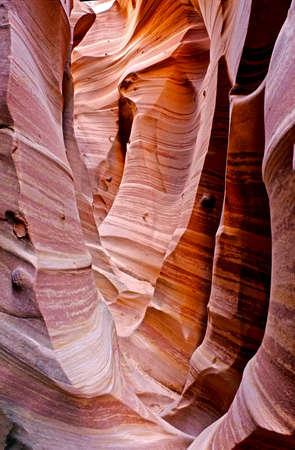 escalante: Zebra Canyon in Grand Staircas Escalante National Monument, Utah. Stock Photo