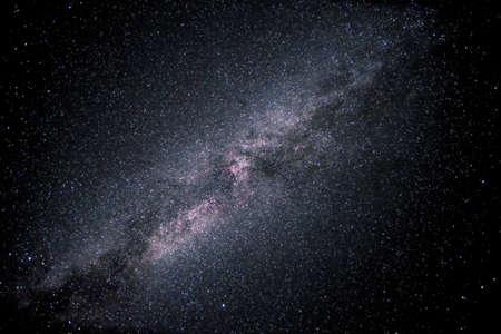 galactic center: Galaxy Milky Way. Manning Provincial Park, British Columbia, Canada.