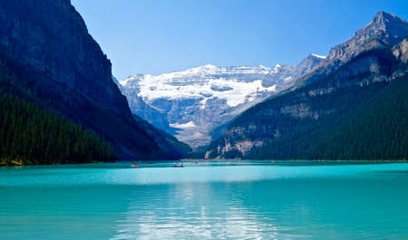 louise: Lake Louise. Banff National Park. Rocky Mountains. Alberta. Canada.